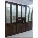 Wooden Melamine Inside Kitchen Wardrobe