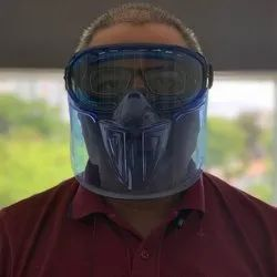 Face Mask With Goggles Face Shields Kleenguard V90 Shield Safety Eyewear