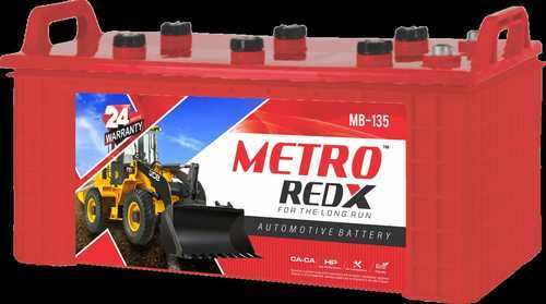 Metro Redx Mb 135 Automotive Battery Voltage 12 V Capacity 135