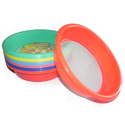 Colored Plastic Atta Strainer