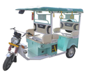 Green Electric Rickshaw