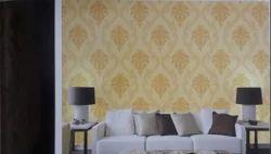 Textured Dining Room Wallpaper