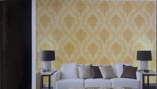 Textured Dining Room Wallpaper