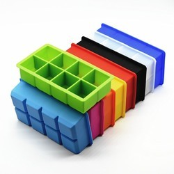 Silicone Ice Cube Tray - Large Ice Cube Maker Mold