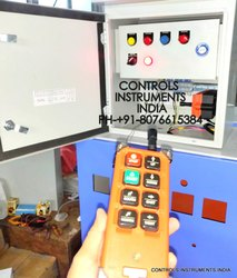 Push Button Crane Hoist Wireless Remote Control Panel