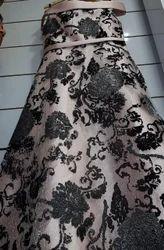 Silk Rose Gold Long Gown