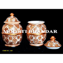 Marble Handicraft Tea Canister