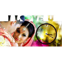 I Love You Desktop Clock