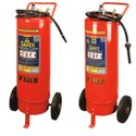Safex Trolley Mounted Water CO2 Type Fire Extinguisher - 50ltrs