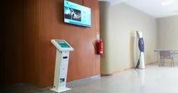 Queue Management System Kiosk