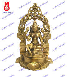 Laxmi Sitting W/Yelli Ring & Deeva Statue