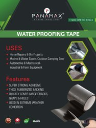 RUBBER Black WATER PROOFING TAPE, Packaging Size: 100MMX1.5MTR, Packaging Type: Roll