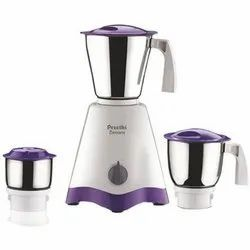 Preethi Crown Mixer Grinder, Number Of Jars: 3