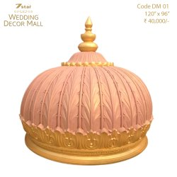 DM01 Fiberglass Dome