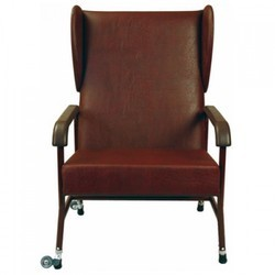 RK Pu Leather High Back Chair, For Home