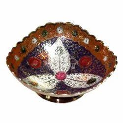 Brass Oval Shape Bowl