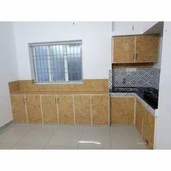 Wooden Modular Kitchen Cabinet