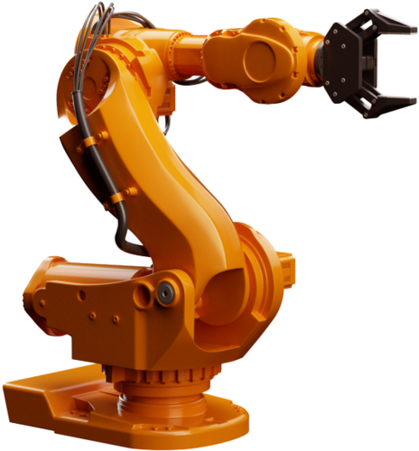 Articulated Robot Yellow Robotic Arm, for Industrial, Servo, Rs 750000  /unit   ID: 16154576591