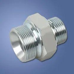 1/2 inch SS HYDRAULIC ADAPTOR, For Column Pipe, Thread Size: BSP