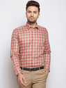 Cotton Lemra Vista Brew Red Check Shirt