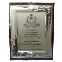 Metal Frame (Laserable 1) for 6X8,8X10,10x12 Plaque