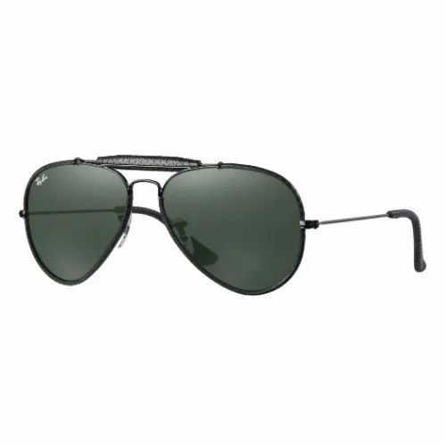 7543ac83f50 Ray-Ban Aviator Outdoorsman Green Classic G-15 Glasses For Male