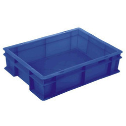 Blue Injection Moulded Crates
