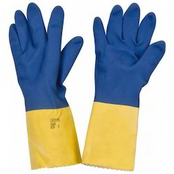 Latex Supported Hand Gloves