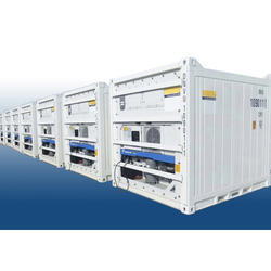 Dual Machine Pharma Refrigerated Container On Rent