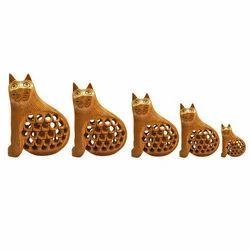 5 Set Gift Wooden Carving