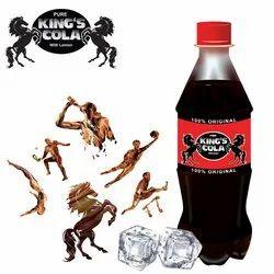 Black Energy Drink Kings Cola, Sprite, Lemon, Orange, Packaging Type: Bottle, Liquid