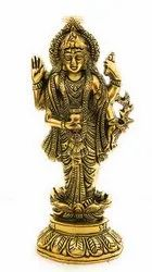Gold Plated Lord Dhanwantri Idol
