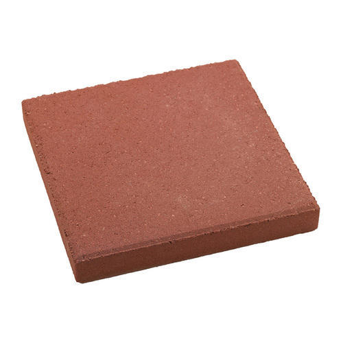 Red Square Interlocking Paver Block For Pavement And