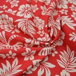 Organic Cotton Poplin Floral Printed Fabric