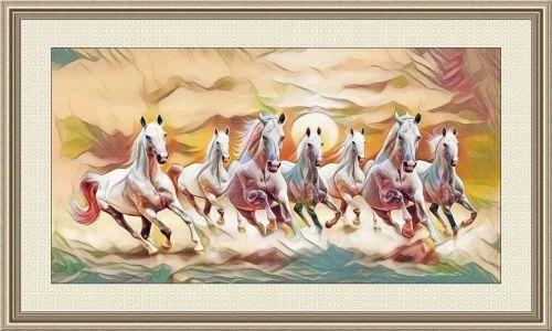 running horses as per vastu pashu chitrakari ज नवर क