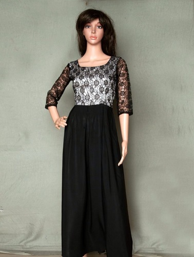 Designer Long Indo- Western Gown, Ladies Gown Suit, Ladies Ka Gown ...