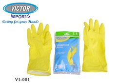 Rubber Kitchen Gloves,Size : Small,Medium,Large