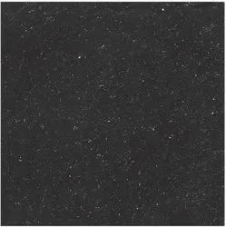 Black Gloss Double Charge Vitrified Tiles, Size: Medium