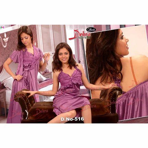 9197b6a538 Ladies Three Piece Nighty at Rs 385  piece