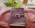 Handmade Leather Journal, Vintage Leather Journal, Handmade Paper Diares