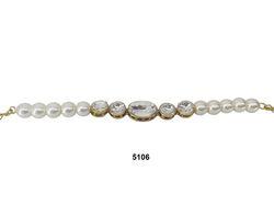 Beaded Kundan Bracelet
