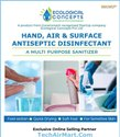 Hand, Air & Surface Antiseptic Disinfectant - a Multi Purpose Sanitizer