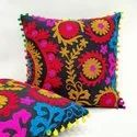 Handmade Vintage Embroidered Cushion Cover