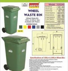 Wheeled Dust bin 120 Ltr Aristo