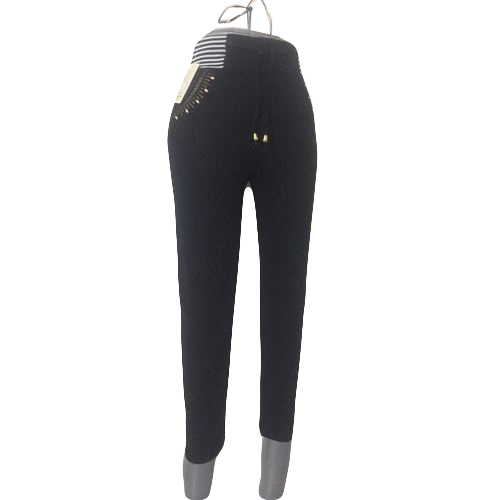 6def8fc5701a8 Ladies Black Fashionable Leggings, Size: Large And XXL, Rs 150 ...