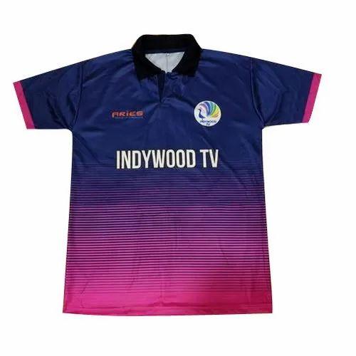 sublimation sports t shirt design clothes manufacturer for blogshop
