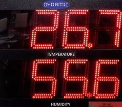 Humidity And Temperature Indicator
