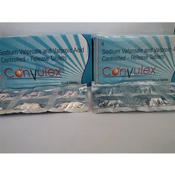 Sodium Valproate and Valpronic Acid Controlled Release Tablets