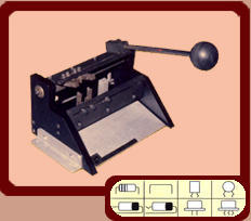 Model:  CM-01  Universal' Manual Cut & Form Machine