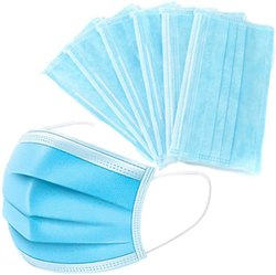 3 Ply Face Mask, Certification: Available